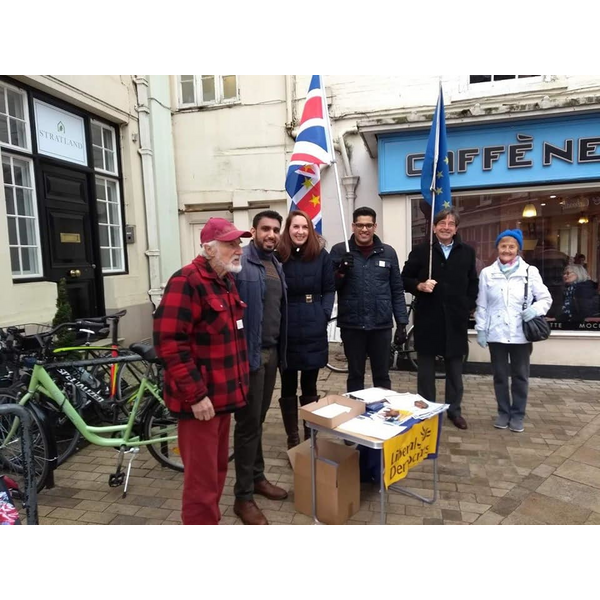 Brexit stall